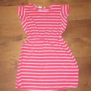 Gap Kids Pink Striped Dress